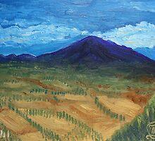 Oil Painting - Mount Etna 2011 by Igor Pozdnyakov