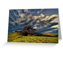 dramatic landscape Greeting Card