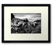 Beach Scene - Drumnacraig Strand, Donegal Framed Print