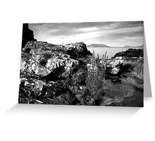 Beach Scene - Drumnacraig Strand, Donegal Greeting Card