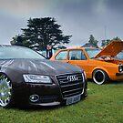 Audi & MK1 Golf by Adam Kennedy