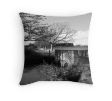 Country Bridge Throw Pillow