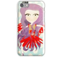 Mélancolie hungry cat doll dancing Barcelona iPhone Case/Skin