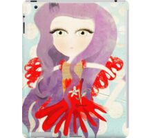 Mélancolie hungry cat doll dancing Barcelona iPad Case/Skin