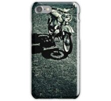 Schwalbe of the manufacturer Simson - Study 3 iPhone Case/Skin