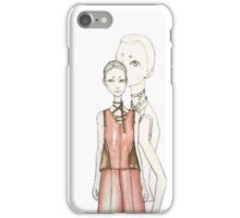 70S FASHION IN WATER COLOR iPhone Case/Skin