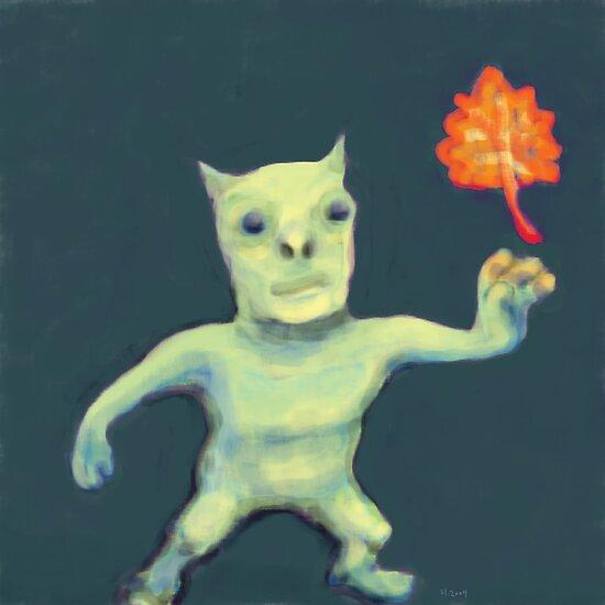 Leaf Daemon by H .