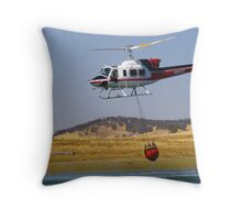 Fighting Fires Throw Pillow