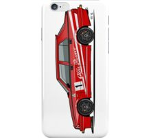 Alfa Romeo 75 Tipo 161 Works Corse Competizione Rosso iPhone Case/Skin