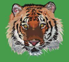 Tiger vector Kids Clothes