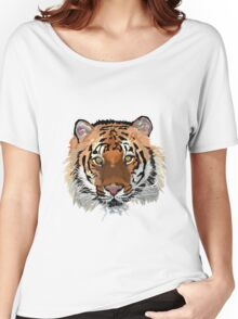 Tiger vector Women's Relaxed Fit T-Shirt