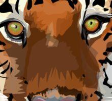 Tiger vector Sticker