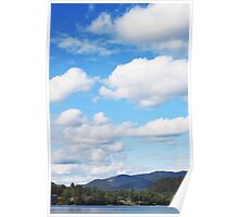 Clouds over Mirror Lake Poster