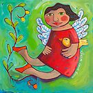 Bring Your Wings by ART PRINTS ONLINE         by artist SARA  CATENA