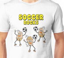 Three Soccer Rocks Unisex T-Shirt