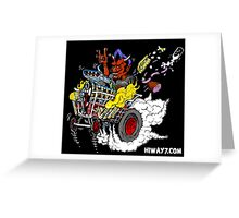 The Devil's Grocery Getter Greeting Card