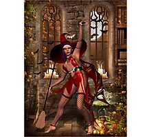 Cast a Halloween spell  Photographic Print