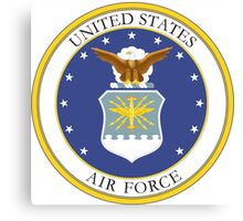 USAF Coat of Arms Canvas Print