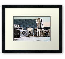 Vintage collection..... Framed Print