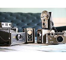 Vintage collection..... Photographic Print