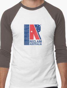 Reclaim Australia Logo Men's Baseball ¾ T-Shirt