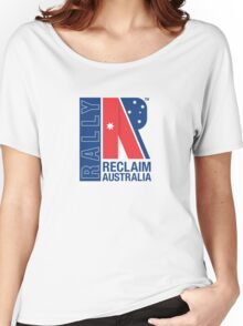 Reclaim Australia Logo Women's Relaxed Fit T-Shirt