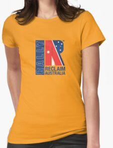Reclaim Australia Logo Womens Fitted T-Shirt