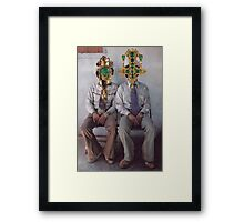 M Blackwell - How They Loved Casual Friday! Framed Print