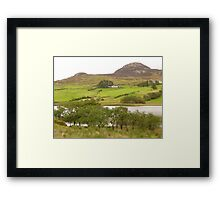 A View Of Rural Peace In Ireland Framed Print