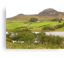 A View Of Rural Peace In Ireland Canvas Print
