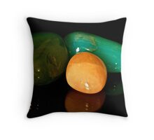Precious Stones Throw Pillow