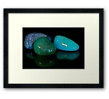Precious Stones Framed Print