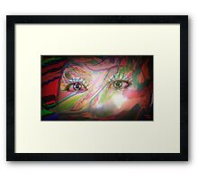 You are an abstract of my imagination Framed Print
