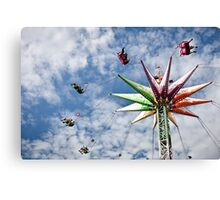 Swing High Canvas Print