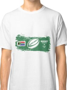 South Africa Rugby World Cup Supporters Classic T-Shirt