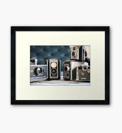 Vintage collection ...close up  Framed Print