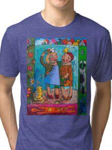 Soul Sisters kitty love Tri-blend T-Shirt