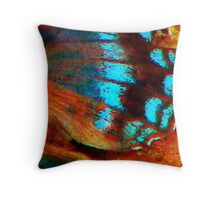 Butterfly wing Throw Pillow