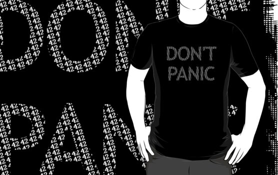 DON'T PANIC by themutato
