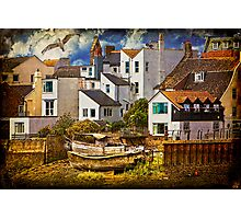 Harbor Houses Photographic Print