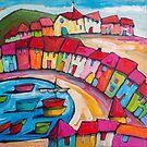 Agay, Cote dÁzur, France by ART PRINTS ONLINE         by artist SARA  CATENA