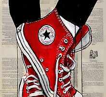 red by Loui  Jover