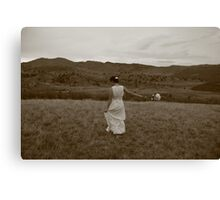 Bride to be.. Canvas Print