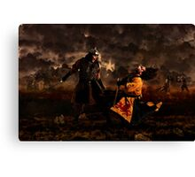 The Huns Invade Europe Canvas Print