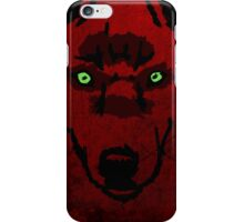 Wolf Head - Blood Ascension iPhone Case/Skin