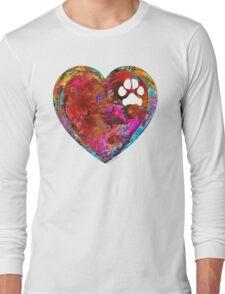 Dog Art - Puppy Love 2 - Sharon Cummings Long Sleeve T-Shirt