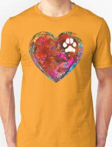 Dog Art - Puppy Love 2 - Sharon Cummings Unisex T-Shirt