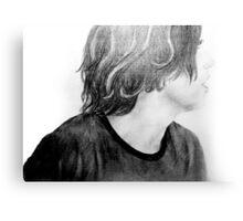 Kellin Quinn Drawing Canvas Print