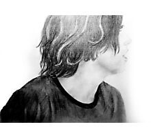Kellin Quinn Drawing Photographic Print