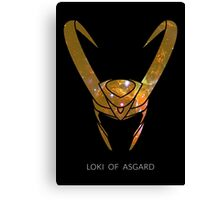 Loki of Asgard Canvas Print